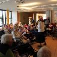 Vendredi 16 mai, un duo d'artiste nommé Gabrielle et Fernand ont transporté les pensionnaires de la Résidence dans une autre époque, plus ancienne, par l'interprétation de chansons d'hier et d'aujourd'hui.